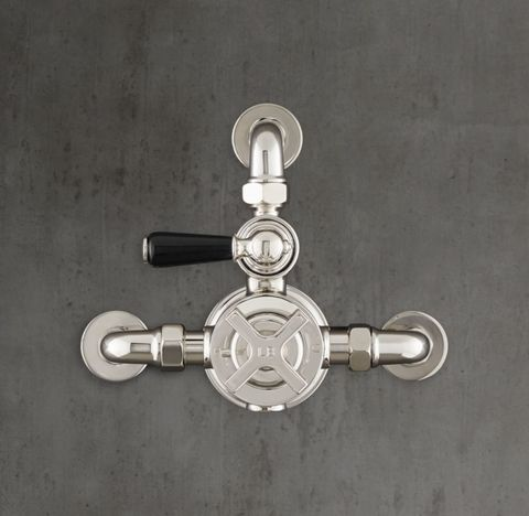 1930 Mackintosh Godolphin Dual-Control Exposed Thermostatic Mixing Valve