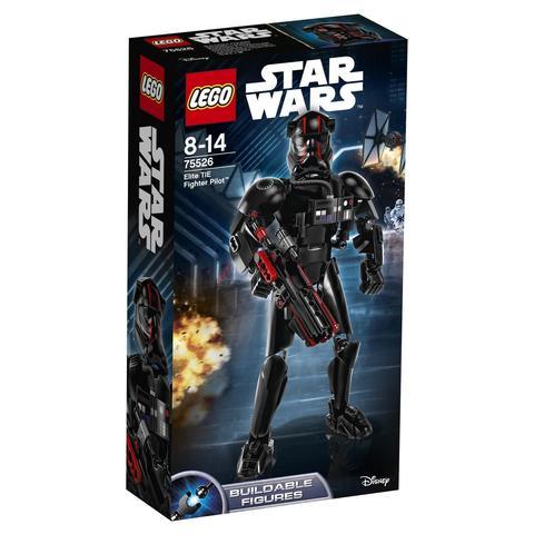 LEGO Star Wars: Элитный пилот истребителя СИД 75526 — Elite TIE Fighter Pilot — Лего Звездные войны Стар Ворз