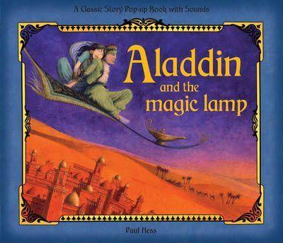 Kitab Aladdin and the Magic Lamp: Pop-up Sound Book | Libby Hamilton