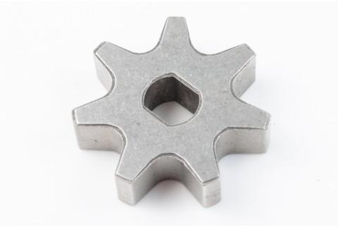 Звездочка на 7 зацепов для электропилы D-36, d=8/10, Н-10 mm