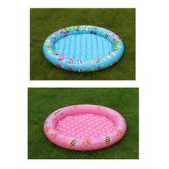Summer Escapes Детский бассейн с надувным дном (морской риф, пчелы и бабочки) (AM-P12-0016)