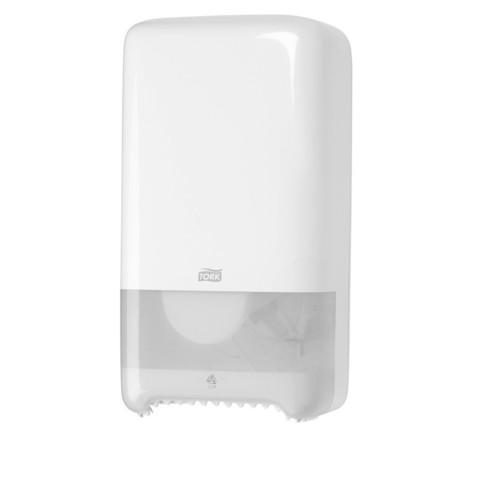 Диспенсер для туалетной бумаги Tork Т6 в миди-рул. 557500 белый