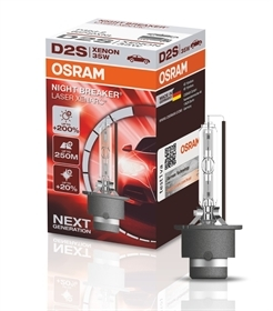 Ксеноновая лампа OSRAM  D2S XENARC NIGHT BREAKER LASER +200%