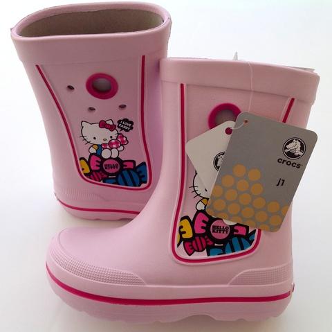 Детские резиновые сапоги Crocs (Кроксы)