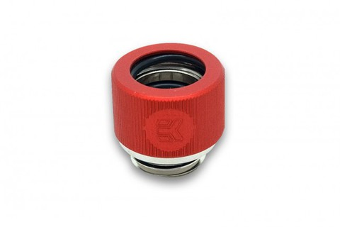 EK-HDC Fitting 12mm G1/4 Red