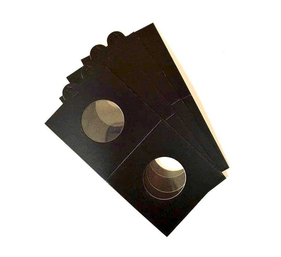 Холдер для монет (самоклеющийся, цвет черный)