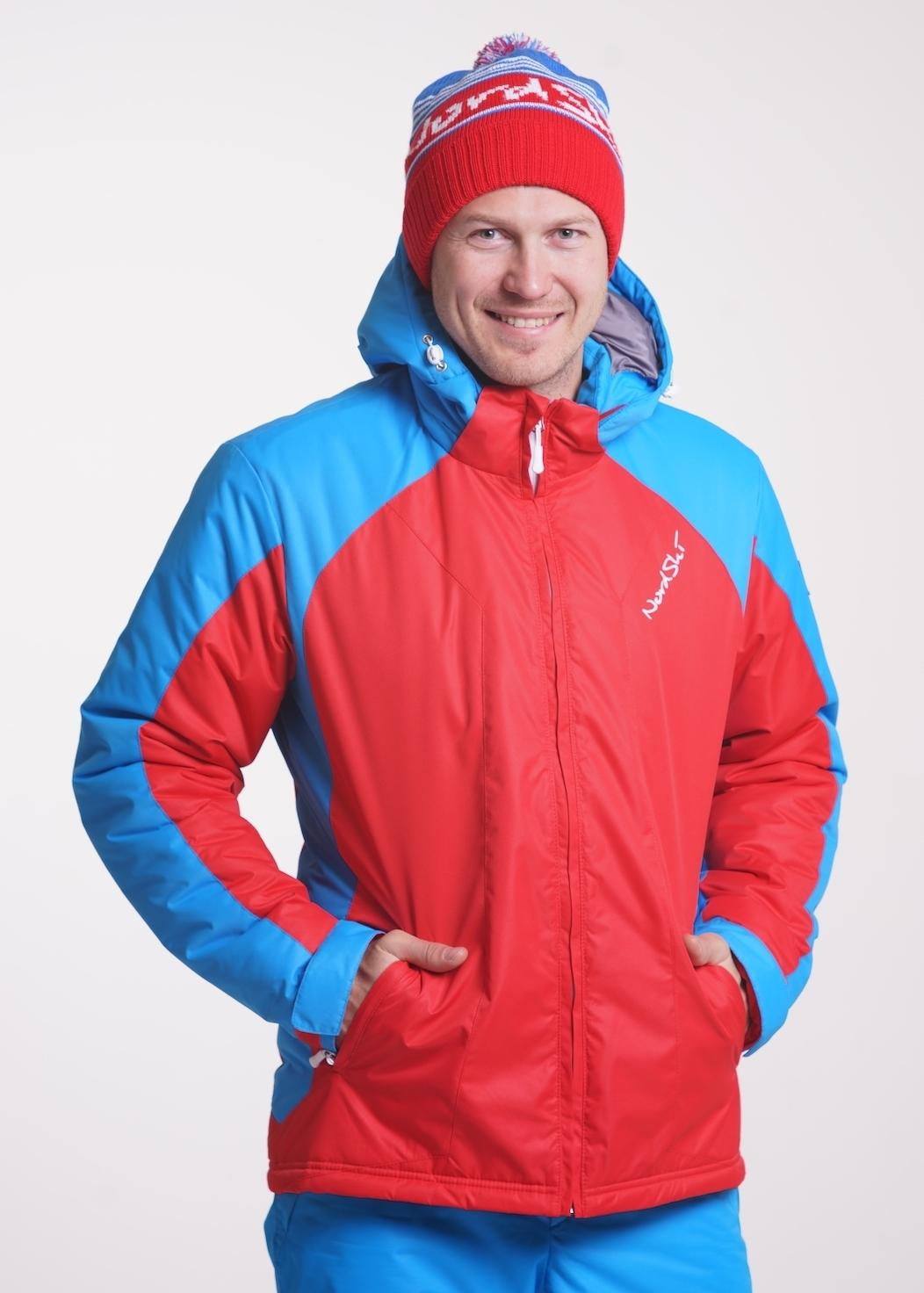 676f733e41f67 Детский Утеплённый прогулочный лыжный костюм Nordski National Red ...