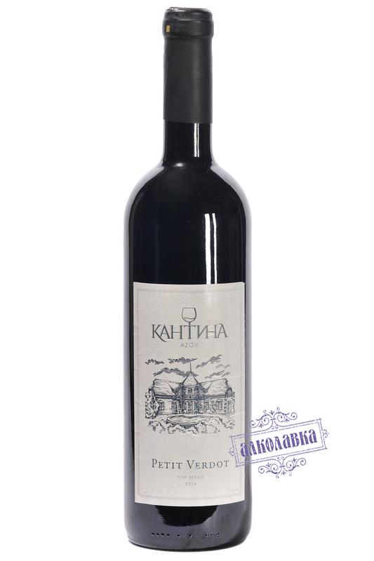 Вино Кантина Пти-вердо  красное сухое 2014г