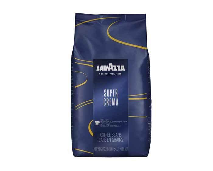 цена кофе в зернах LavAzza Super Crema, 1 кг