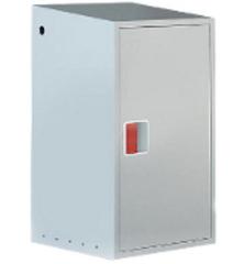 Сварной шкаф на один баллон 27 литров
