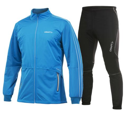 CRAFT NORDIC STORM мужской лыжный костюм синий