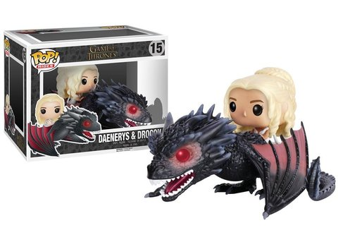 Фигурка Funko POP! Rides: Game of Thrones: Drogon  Daenerys 7235