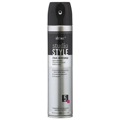 Витэкс Studio Style Лак-финиш для волос ультра сильной фиксации 300 мл