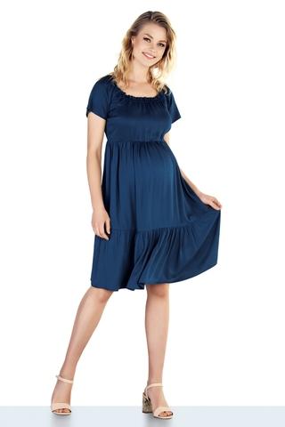 Платье для беременных 10209 синий