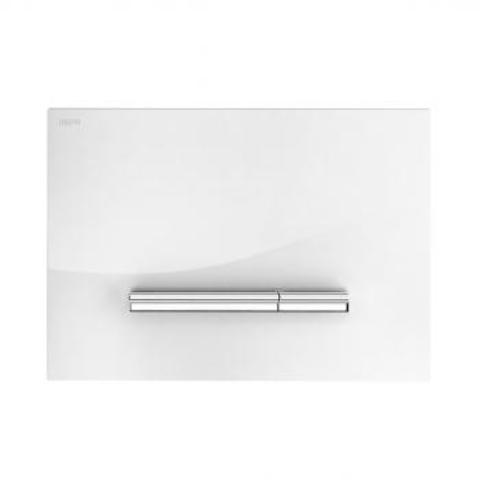 Смывная клавиша Mepa Sirius B 421750 белое стекло