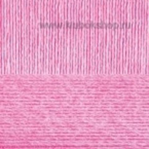 Пряжа Вискоза натуральная Пехорский текстиль Розовый 20