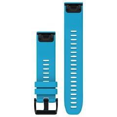 Ремешок силиконовый QuickFit 22 для Garmin Fenix 5 (синий) 010-12496-04