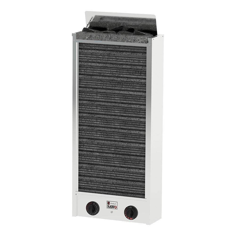 Серия Cirrus: Электрическая печь SAWO MINI CIRRUS 2 CIR2-30NB-P (3 кВт, встроенный пульт, нержавейка)