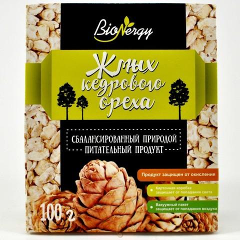 Жмых ядра кедрового ореха BioNergy, 100г
