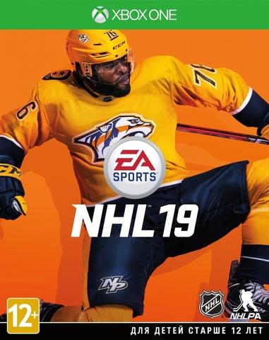 Microsoft Xbox One NHL 19 (русские субтитры)