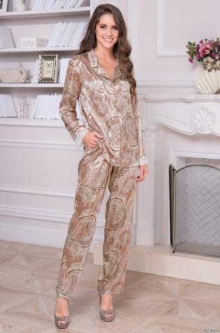 Пижама с брюками  MIA_MIA CLEMENTINA 3456 (70% натуральный шелк)