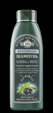 Iris Фитотерапия Шампунь Олива и Мята 500 мл