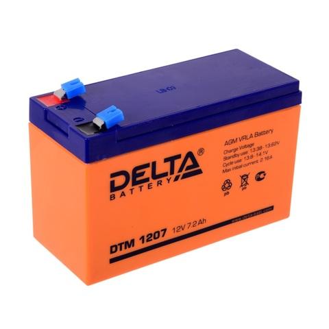 Аккумулятор Delta DTM1207 (12В 7А/ч)