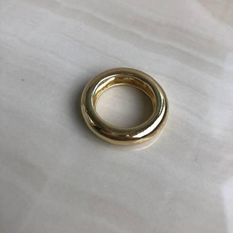 Кольцо Классическое, позолота