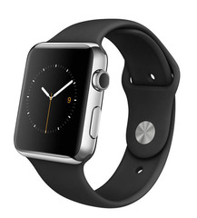 Часы смарт Apple Watch Sport 38мм (цвет черный)