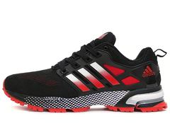 Кроссовки Мужские Adidas Marathon TR 13 Dark Red White