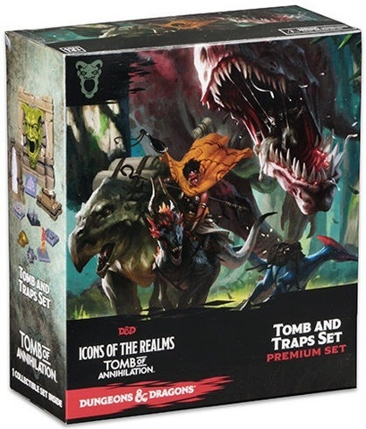 D&D Icons of the Realms: Tomb of Annihilation – Tomb and Traps Case Incentive