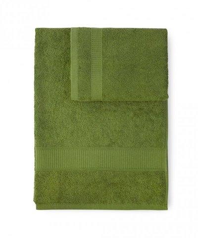Полотенце 100х150 Caleffi Calypso зеленое