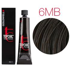 Goldwell Topchic 6MB (средний матово-коричневый) - Cтойкая крем краска 60мл