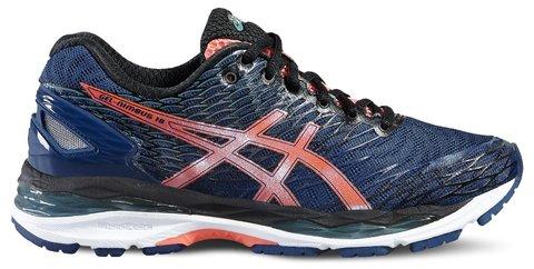 ASICS GEL-NIMBUS 18 женские кроссовки для бега темно-синие
