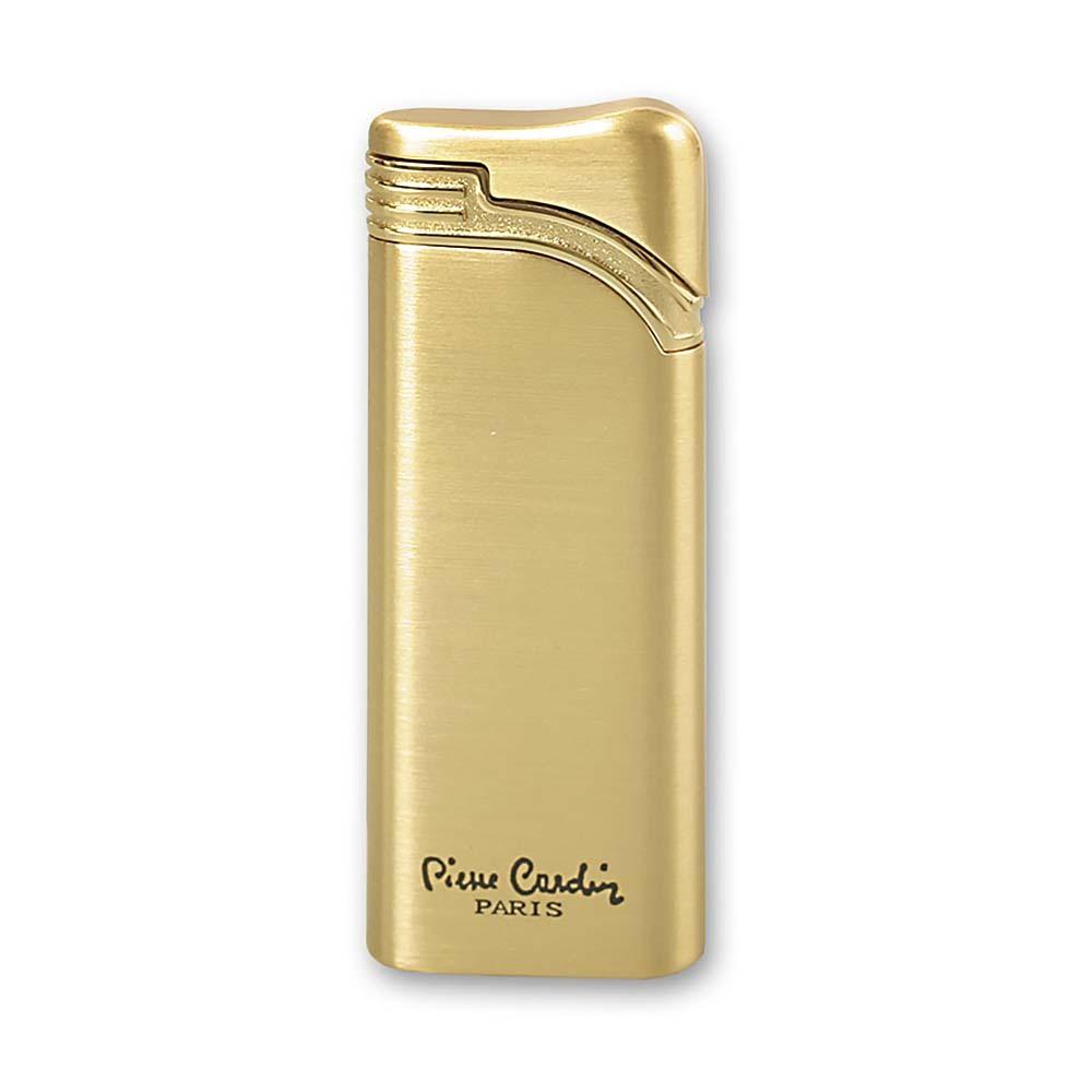 Зажигалка Pierre Cardin газовая турбо, цвет позолота, 2,7x1x7,3см