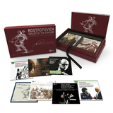Mstislav Rostropovich / Cellist Of The Century - The Complete Warner Recordings (40CD+3DVD)
