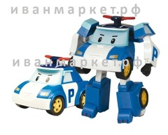 Поли Машинка-трансформер Робокар Поли (Robocar Poli)