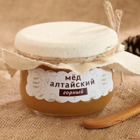 Мёд Алтайский горный