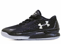 Кроссовки Мужские Under Armour Curry One Low Black Grey