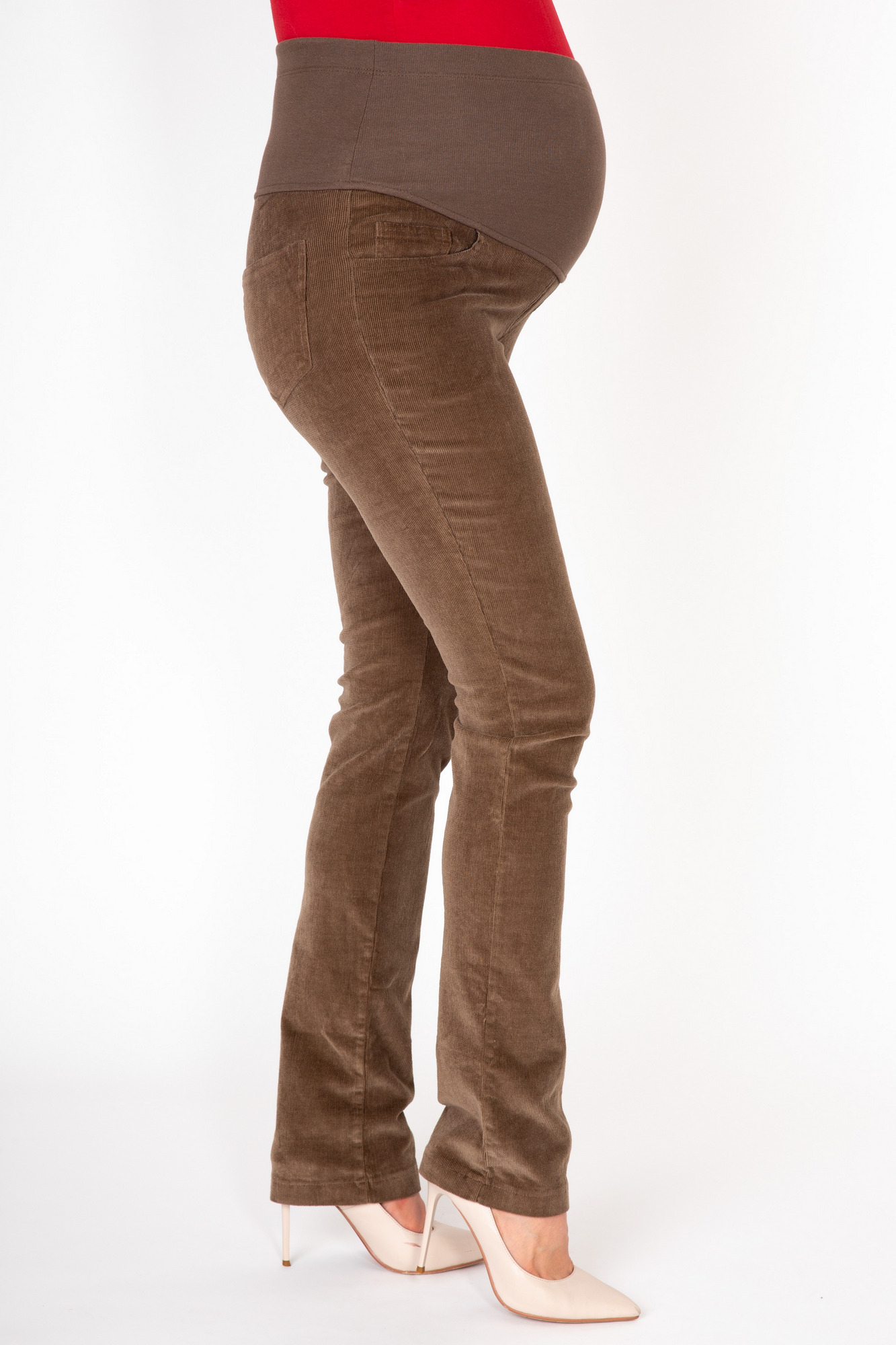 Брюки 03169 коричневый