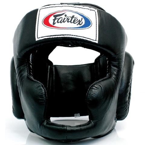Шлем Fairtex Headguard HG3 Black