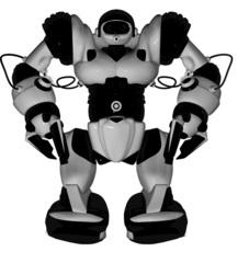 Радиоуправляемый робот WowWee Robosapien (8083) серебристый