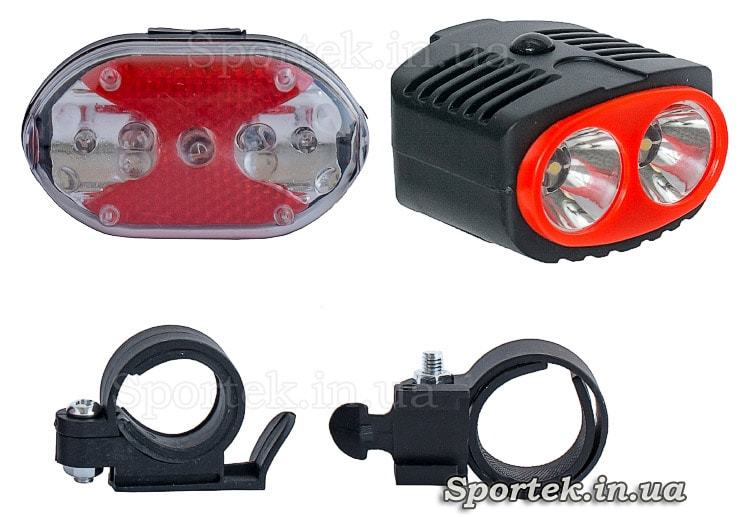 Комплект велосипедных фонарей TD-516
