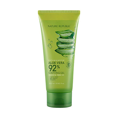 Увлажняющий алоэ гель 92% NATURE REPUBLIC ALOE VERA 92% SOOTHING GEL 250ml