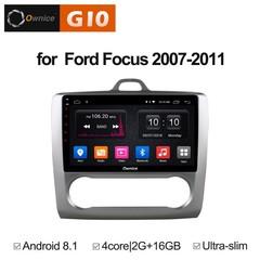 Штатная магнитола на Android 8.1 для Ford Focus 2 Ownice G10 S9201E-A