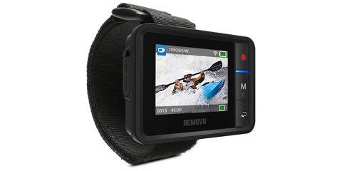 Пульт REMOVU R1+ с LCD экраном фото с креплением на руку