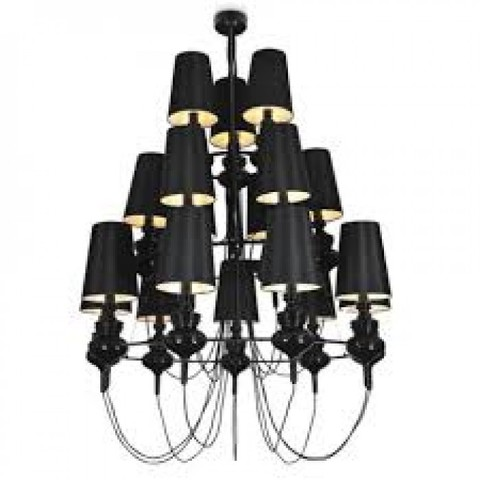 replica Jaime Hayon  Josephine chandalier 16 lamps (black)