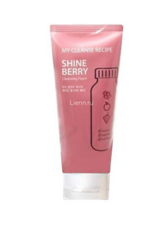 Пенка для умывания My Cleanse Recipe Cleansing Foam-Shine Berry от the Saem