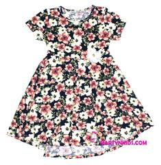 1353 платье цветущий луг