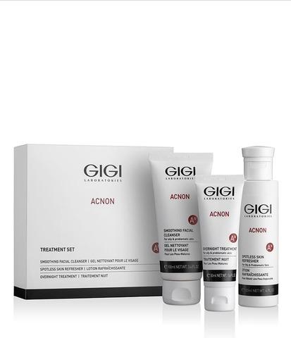 Gigi Acnon Набор чистая кожа, 3 препарата